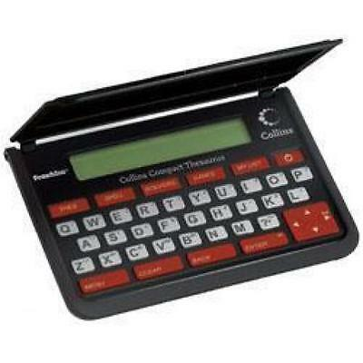 Franklin TPQ109 Collins Electronic Pocket Spell Check Thesaurus Compact Edition