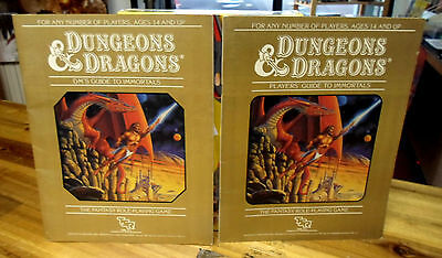 D&D Set 5 Immortal Rules (Books Only With Reference Guide) TSR Dungeons Dragons
