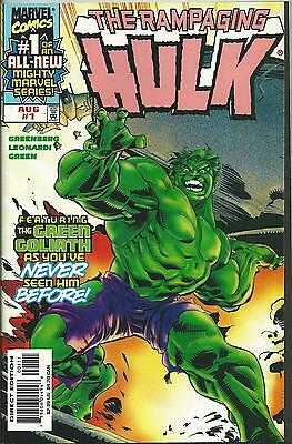 Rampaging Hulk #1 (Marvel) 1998