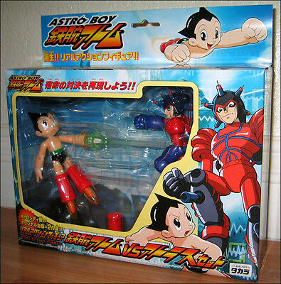 Mighty Atom Astro Boy Vs Atlas Real Toy Action Figure Anime Takara DISCONTINUED!