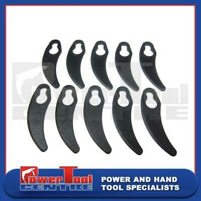 10 x Clip on Plastic Lawn Mower Blades to fit for Performance Power PRO1200HMA