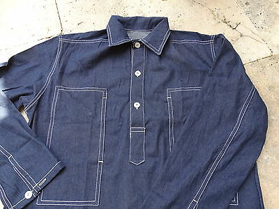Denim Worker Shirt Jeans Hemd 1937 Lutece MFG US Army Navy Heritage Rugged Wear