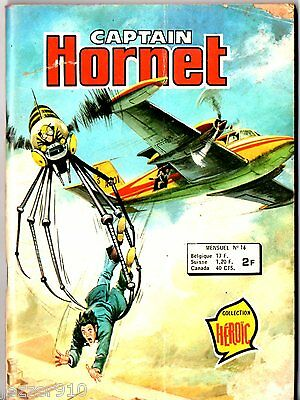 # CAPTAIN HORNET n°16 # 1977 AREDIT