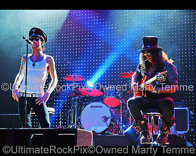 Slash Photo Scott Weiland Guns N Roses GNR VR 16x20 Poster Size by Marty Temme 2