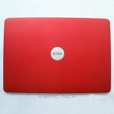 New For Dell Inspiron 1525 1526 Red LCD Housing Lid Back Cover w/ Antenna TY059