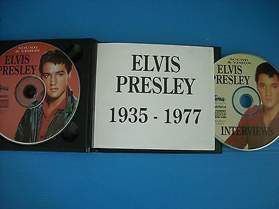 Elvis Presley Sound & Vision Box 2 Cd Concerts A Little Rock & Louisiana Hayride