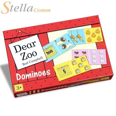 Paul Lamond Dear Zoo Dominoes Kids Animal Matching Snap Game - PLG4585