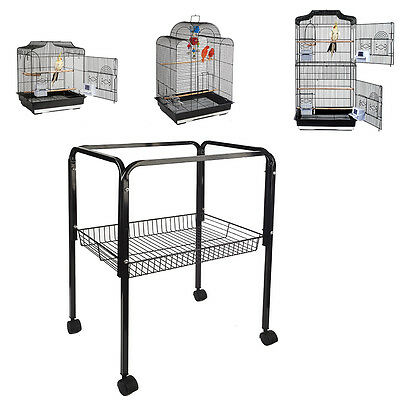 Bird Cage Stand Trolly C1 Black For St Lucia Costa Rica San Luis 9011 Only
