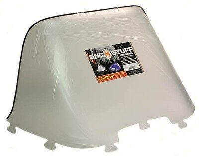 "Ski-Doo Olympique 300, 1975 1976 1977 1978, 14-1/2"" Clear Windshield - NEW"