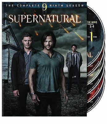 Supernatural ~ The 9th Complete Ninth Season 9 Nine ~ BRAND NEW 6-DISC DVD SET