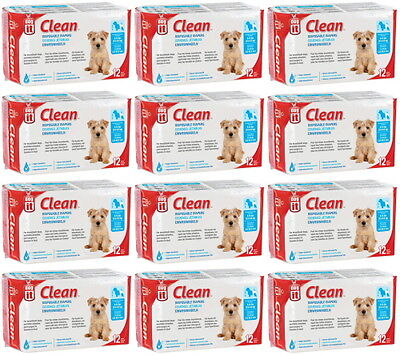 Dogit Clean Disposable Diapers Small 144pk (12x12pk)