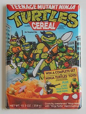 Ninja Turtles Cereal Box FRIDGE MAGNET teenage mutant turtles