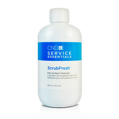 CND Scrub Fresh Nail Prep Surface Cleanser Sanitizer 7.5 floz / 222 ml