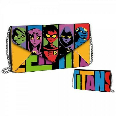 Envelope Wallet - Teen Titans - with Chain Anime Licensed gw1pnntti