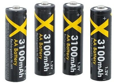 4AA BATTERY 2900mAH FOR CANON POWERSHOT SX150 SX130 IS