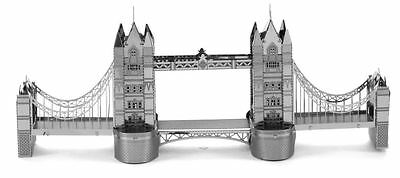 Metal Earth London Tower Bridge 3D Laser Cut Highly Detailed Model
