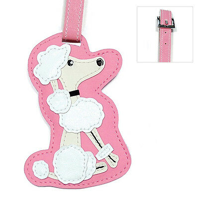 Poodle Dog Luggage Tag Briefcase Gym Backpack Travel ID