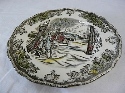 """JOHNSON BROS CHINA FRIENDLY VILLAGE ENGLAND BREAD & BUTTER PLATE 6-1/8"""""""