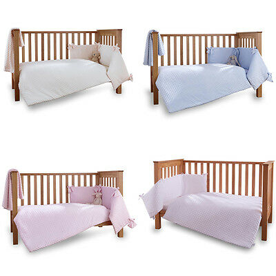 Clair de Lune Dimple 3 Piece Quilt Bedding Bale