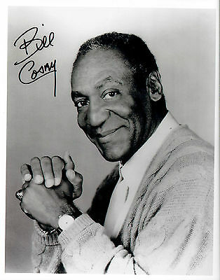 Bill Cosby signed 8x10 reprint autograph classic pose