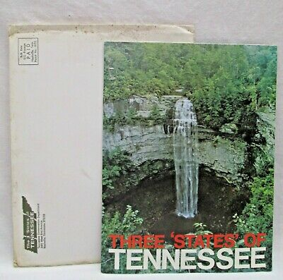 Vintage 1968 State of Tennessee Tourist Travel Packet Brochure Guide