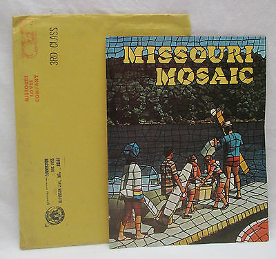 Vintage 1968 State of Missouri Tourist Travel Packet Brochure Guide