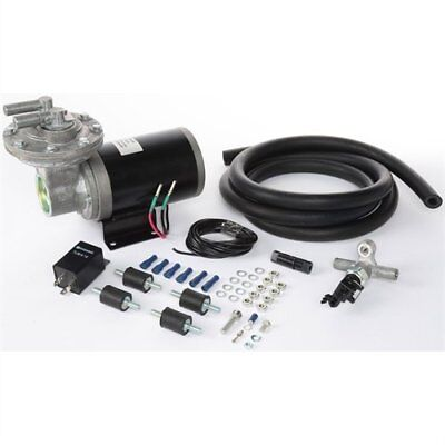 "12 Volt Electric Vacuum Pump Kit 18"" to 22"" for Brake Booster JEGS 63016"