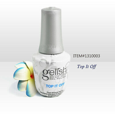Nail Harmony Gelish UV Soak Off Gel Top It Off 0.5oz / 15ml
