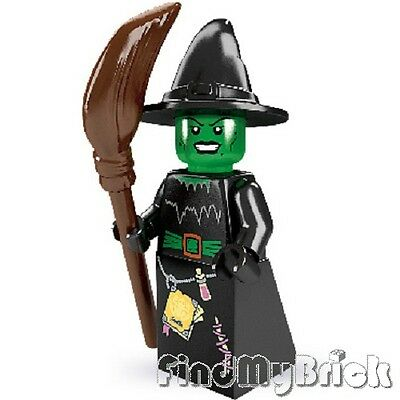 Lego Minifigure 8684 Series 2 -  Witch ( Wizard of Oz Witch of the West ) NEW