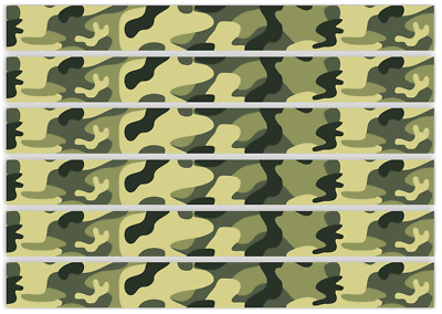 Army camouflage paintball edible cake ribbon decorating icing