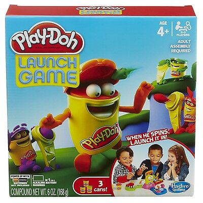 Play-Doh Playdoh Launch O Rama Childrens Board Game For 4 Years And Over New