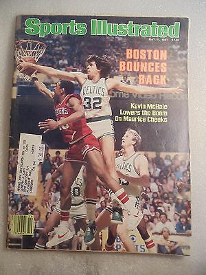 May 11, 1981 Sports Illustrated magazine Kevin McHale Boston Celtics on cover