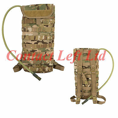 New 2.5 Litre MOLLE Aqua Bladder / Camel Back - Official MultiCam Military Camo