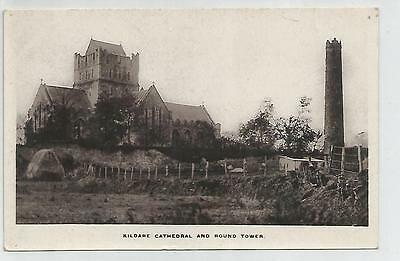 irish postcard ireland kildare cathedral