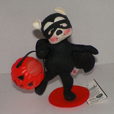 ANNALEE Batty For Treats Bear 8 inch with tag