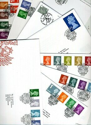 (D7) 1995 - 2014 Definitive FDCs / Machin First Day Covers FDC MULTIPLE LISTING