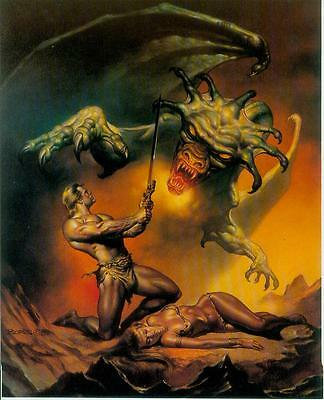 Boris Vallejo Postercard: Dragon (USA, 1992)