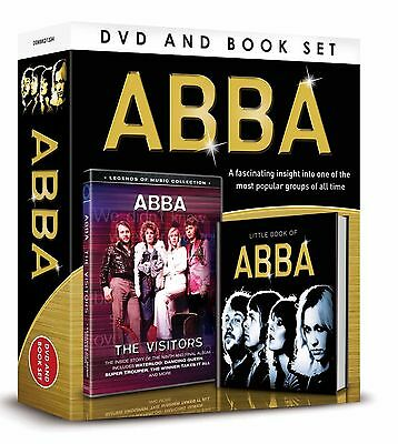 Abba Gift Set -  The Visitors Inside Story Waterloo + More Dvd & Book Of Abba