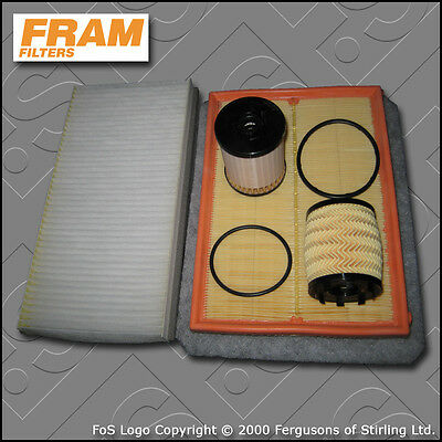 Service Kit Vauxhall Combo C 1.3 Cdti Oil Air Fuel Cabin Filters Of=85Mm (04-11)