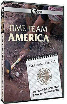 Time Team America: Seasons 1 & 2 - 3 DISC SET (2014, DVD New)