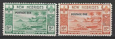New Hebrides 1938 Postage Due 5C And 10C