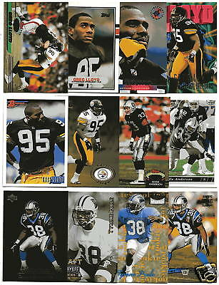 50 Fort Valley State Alumni Football Cards; NM-Mint; 1989-1997