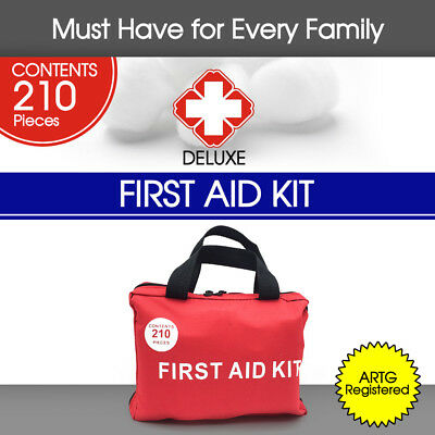 210 Pieces First Aid Kit-A Must Have for Every Family ARTG Registered