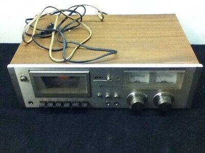 Vintage Sanyo RD 5030 Stereo Cassette Deck Preowned For Parts Or Repair