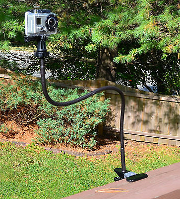Tree Stand Trail Hunting Extra Long Bendy Mount for GoPro HERO3 HERO3+ Camera