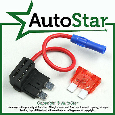 Add A Circuit Fuse Splice Piggy-Back Blade Fuse Holder ATO ATC 12v 24v volt