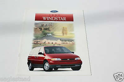 Auto Brochure - Ford - Windstar - 1997 (AB411)