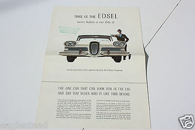 Auto Brochure - Ford - This is the Edsel - 1957 (AB413)