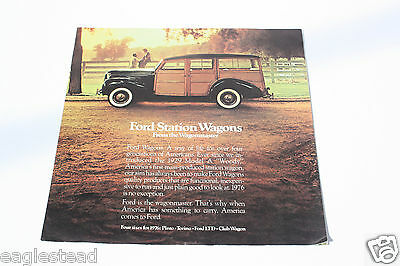 Auto Brochure - Ford - Pinto Torino LTD Club Station Wagons 1976 - OS (AB414)
