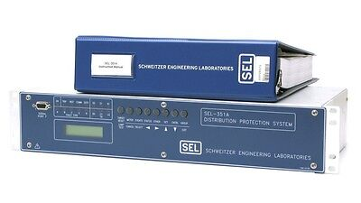 Schweitzer SEL 351A 351A#182339 Distribution Protection System